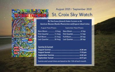 Stargazing on St. Croix: August & September